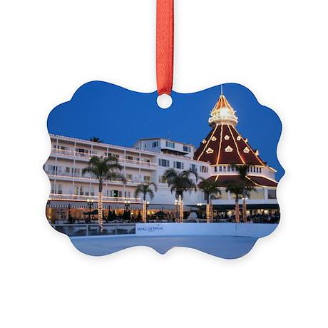 Hotel Del Coronado Picture Ornament