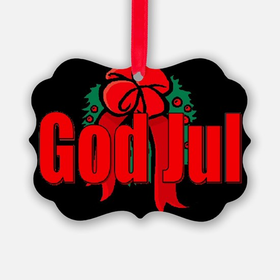 God Jul Ornament