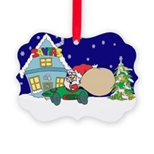 Drag Racing Christmas Ornament