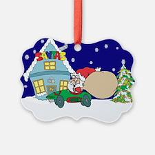 Drag Racing Christmas Ornament