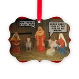 Anti christmas Picture Frame Ornaments