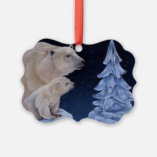 Ice Tree Ornament