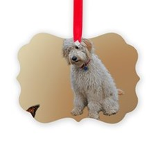 Goldendoodle: Wallace Ornament