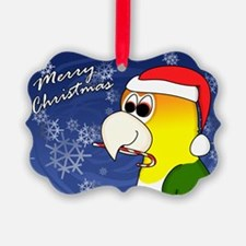 Ctn White Bellied Caique Christmas Cards (20 Pack)