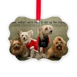 Chinese crested Picture Frame Ornaments