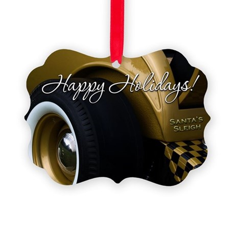 Hot Rod Picture Ornament V2 (Pk of 20)