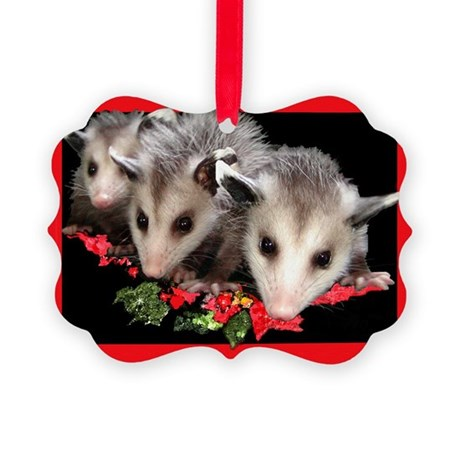 Christmas Critters Picture Ornament