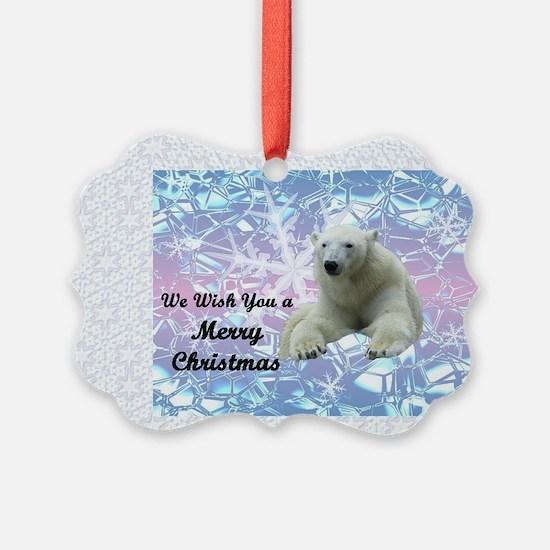 Polar flake Ornament
