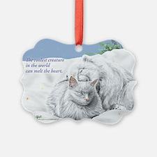 Economy cool cat Ornament