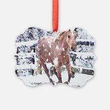 Palomino Horse lover Gifts, Ornament 20 pk