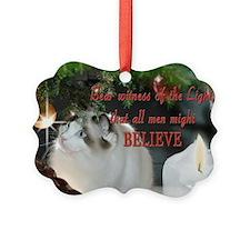Ragdoll Cat Ornament