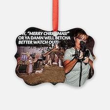 Sarah Palin War on Christmas Ornament20pk)