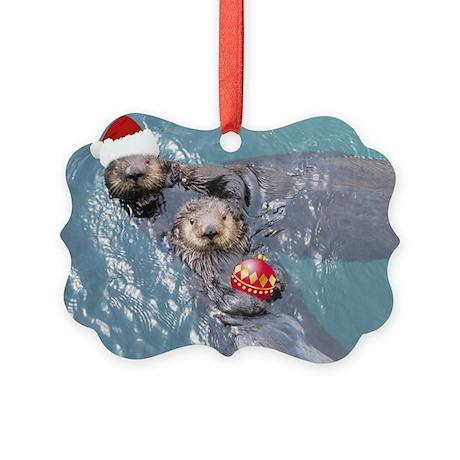 otter Picture Ornament