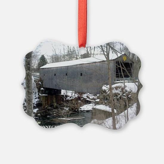 Bulls Bride Snowy Ornament