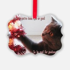 British Shorthair Cat Ornament