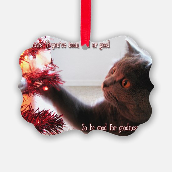 British Shorthair Cat Ornament