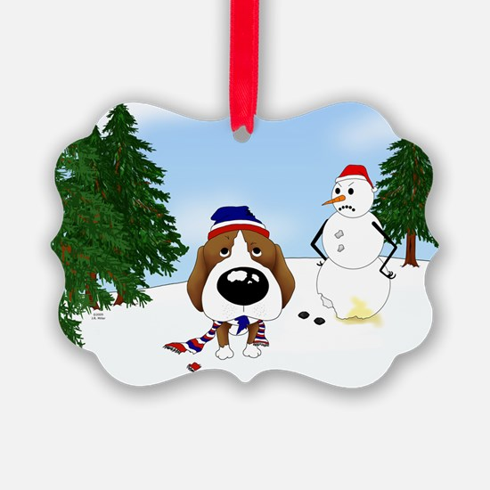 Beagle Holiday Ornament