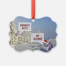 Anti Obama funny Christmas Ornament