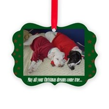 """Christmas Dreams"" Ornament"