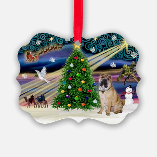 XmasMagic/SharPei (#5) Ornament