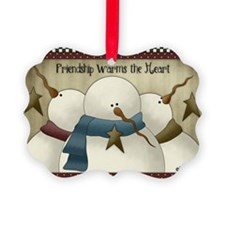Friendship Warms the Heart Ornament 20)