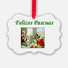 Felizes Pacuas Ornament