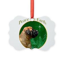 Peace on Earth apricot Ornament