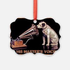 VINTAGE DOG ART: RCA DOG Ornament