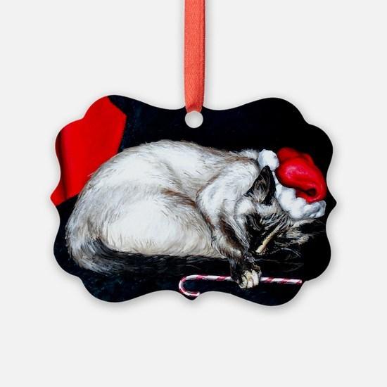 Sleeping Santa Claws Ornament