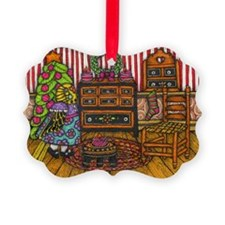 Christmas Cabin II Ornament