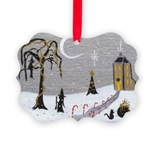 Holiday Witch Candy Cane Ornament