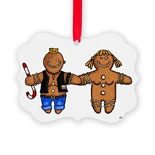 butch/femme gingerbread Ornament