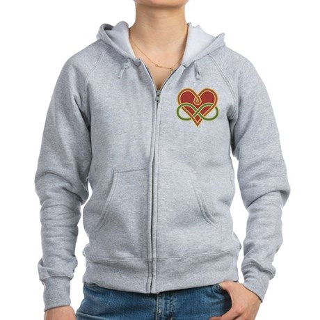 Polyamory Heart Women's Zip Hoodie