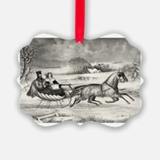 The Winter Road Ornament