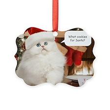 Cookies for Santa Christmas Ornament