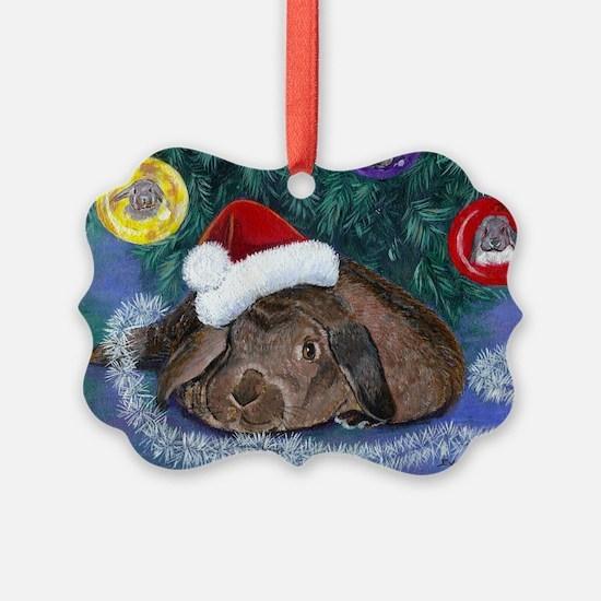 Solomon Rabbit Christmas Ornament