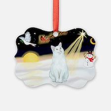 Cute Purebred cats Ornament