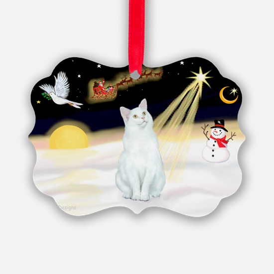 Cute Kitten art Ornament