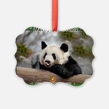Giant Panda Bear Ornament