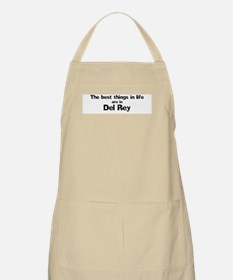 Del Rey: Best Things BBQ Apron