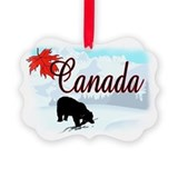 Canada christmas Picture Frame Ornaments