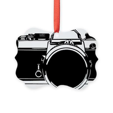 SLR Camera Picture Ornament