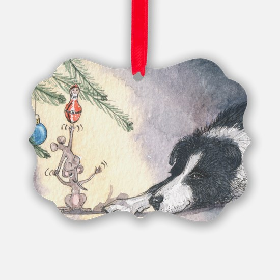 Peace on earth and goodwill t Ornament