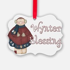Wynter Blessings Ornament