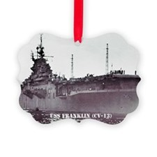 USS FRANKLIN Ornament