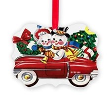 Vintage Style Christmas Ornament