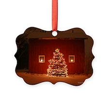 Enchanted Holiday Barn Ornament