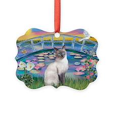 Lilies(JF)/Siamese Cat 24 ( Ornament