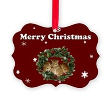 eGerbil Pack of 20 Christmas Pup Wreath Cards