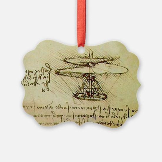 DaVinci Flying Machine Ornament